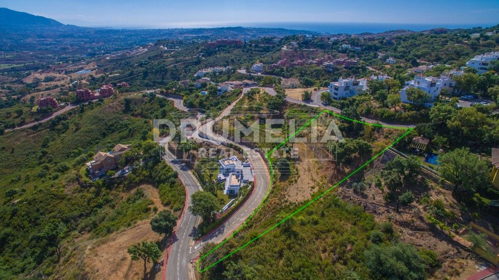 Marbella East, Superb Plot in La Mairena, Marbella East
