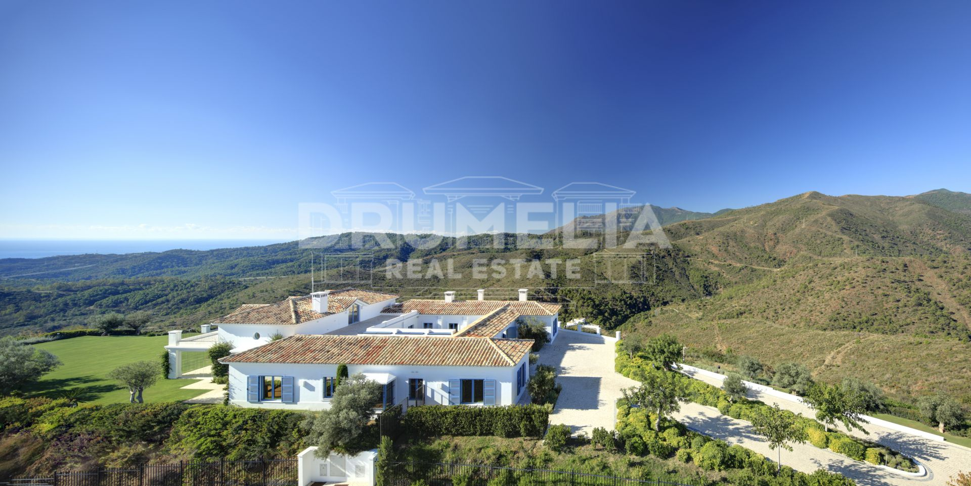 Benahavis, Stunning Front Golf Modern Classic Luxury Villa, Monte Mayor Golf & Country Club, Benahavis