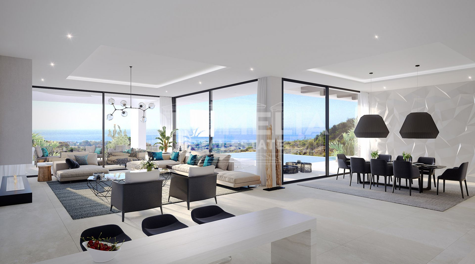 Estepona, Brand New Luxury Contemporary Villa, New Golden Mile, Selwo, Estepona.