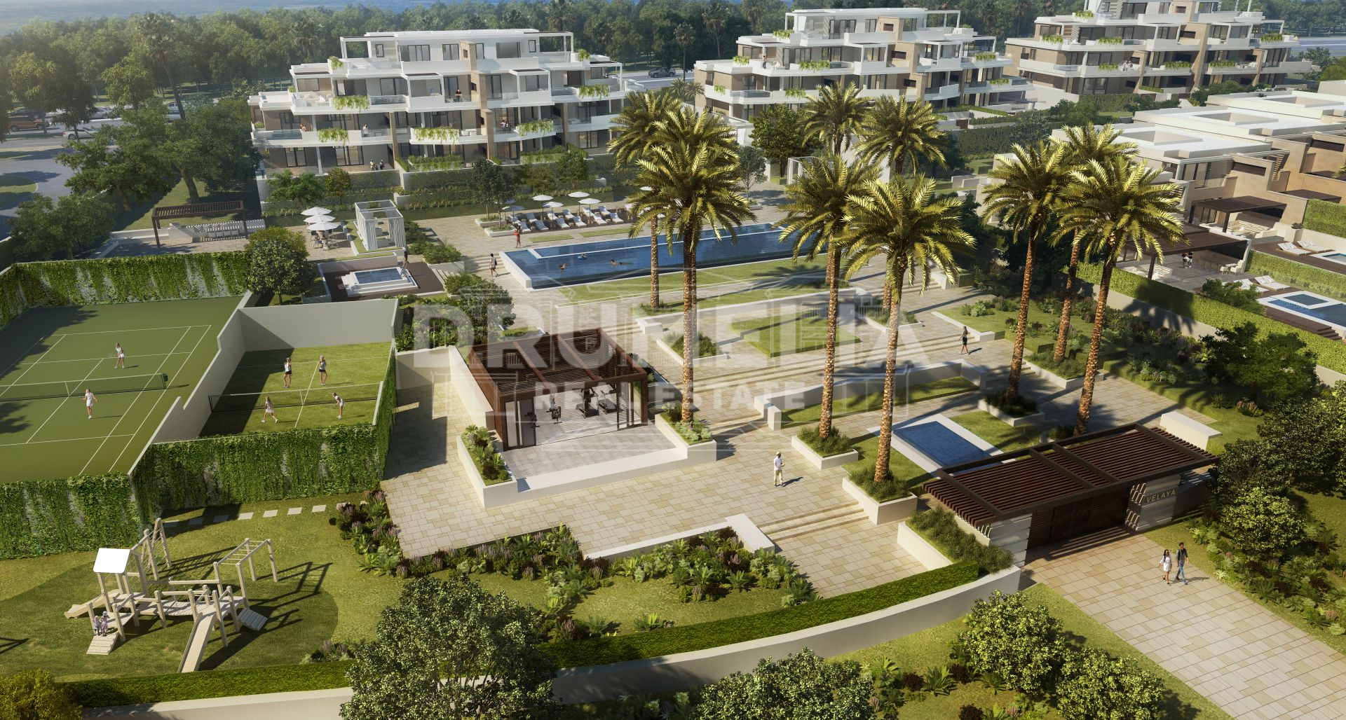 Estepona, Frontline Beach Ground Floor Apartment, New Golden Mile, Estepona