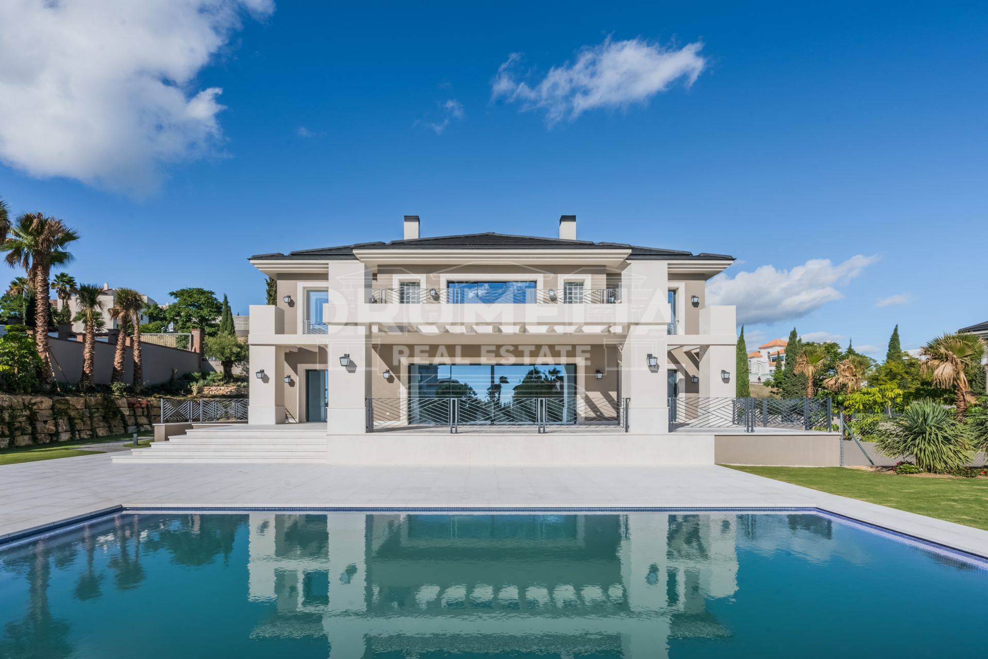 Benahavis, Brand New Luxury Villa of Modern Classic style, Los Flamingos, Benahavis
