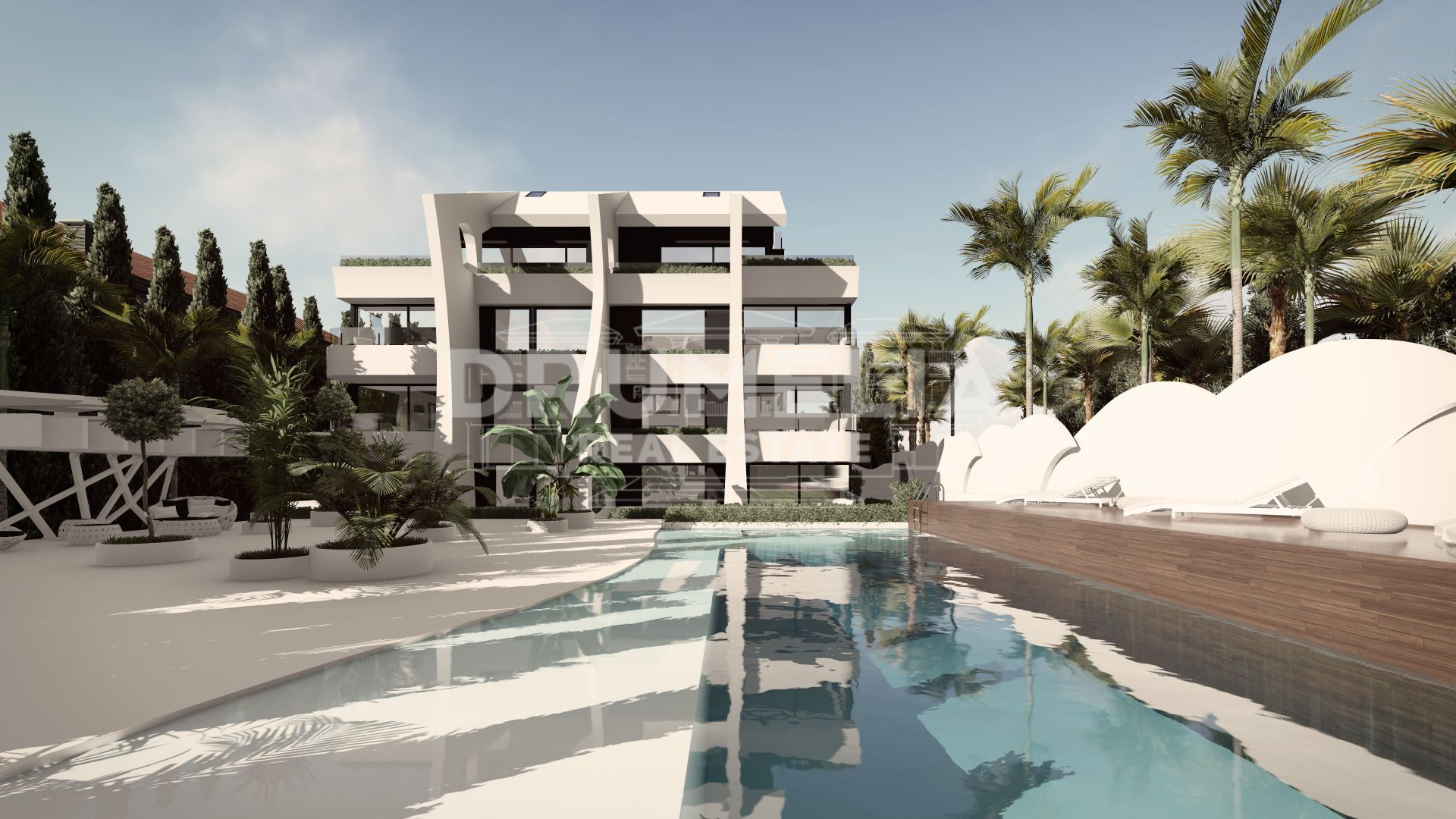 Marbella East, New Stylish Modern Luxury Duplex Penthouse, Carib Playa, Marbella East
