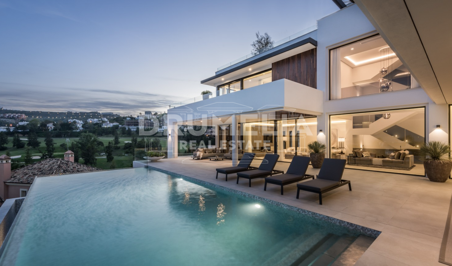 Benahavis, Captivating New Modern Luxury Villa, La Alqueria, Benahavis