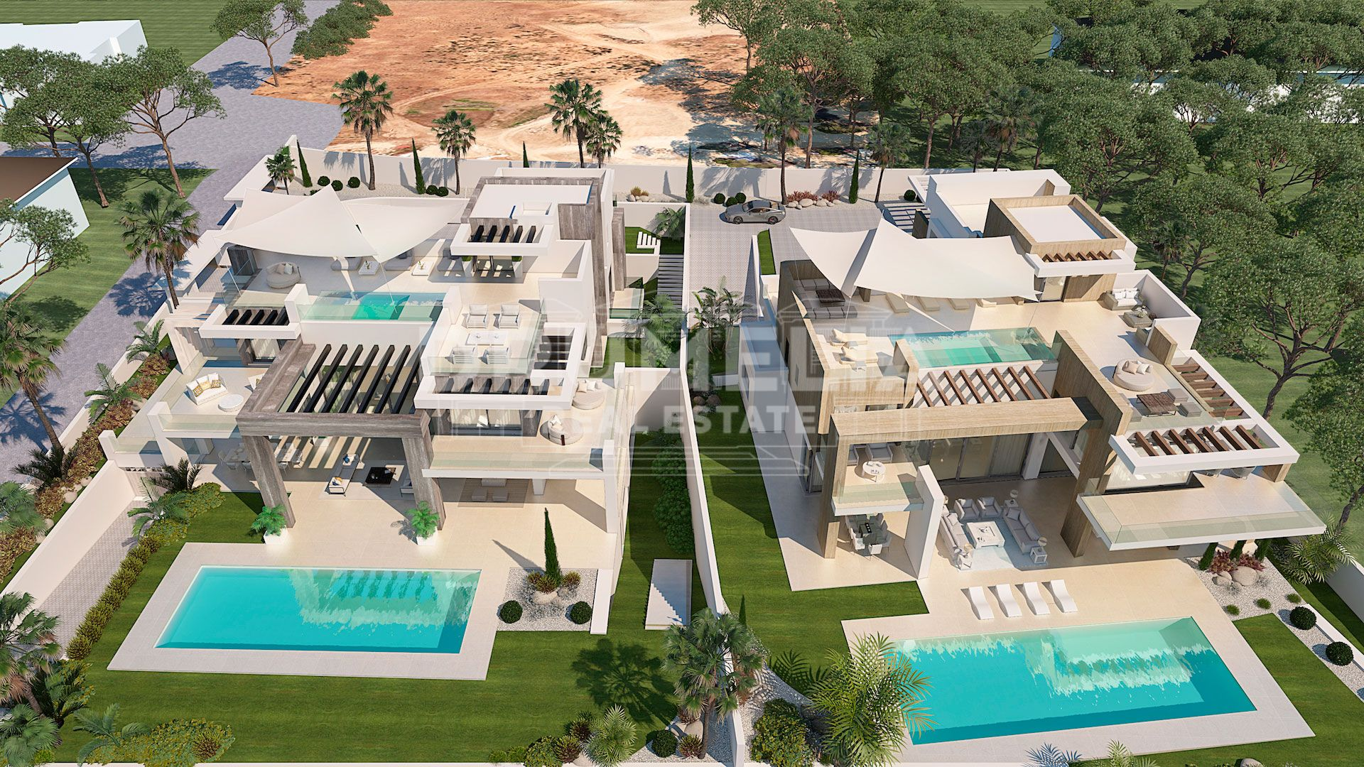 Marbella Golden Mile, New High-End Elegant Modern Luxury Villa, Rocio de Nagüeles, Marbella Golden Mile