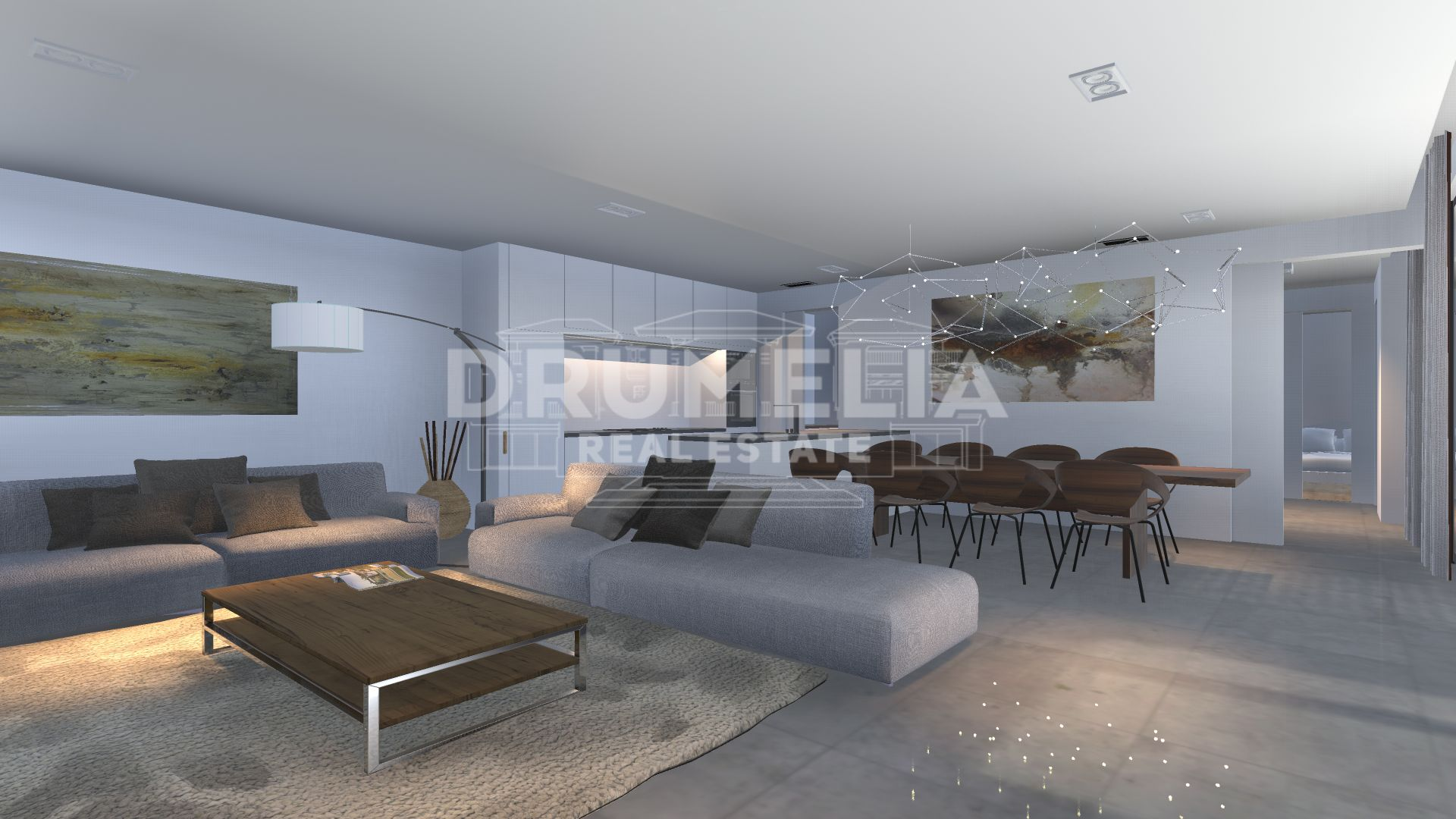 Marbella East, New Remarkable Modern Luxury Villa, El Rosario, Marbella East