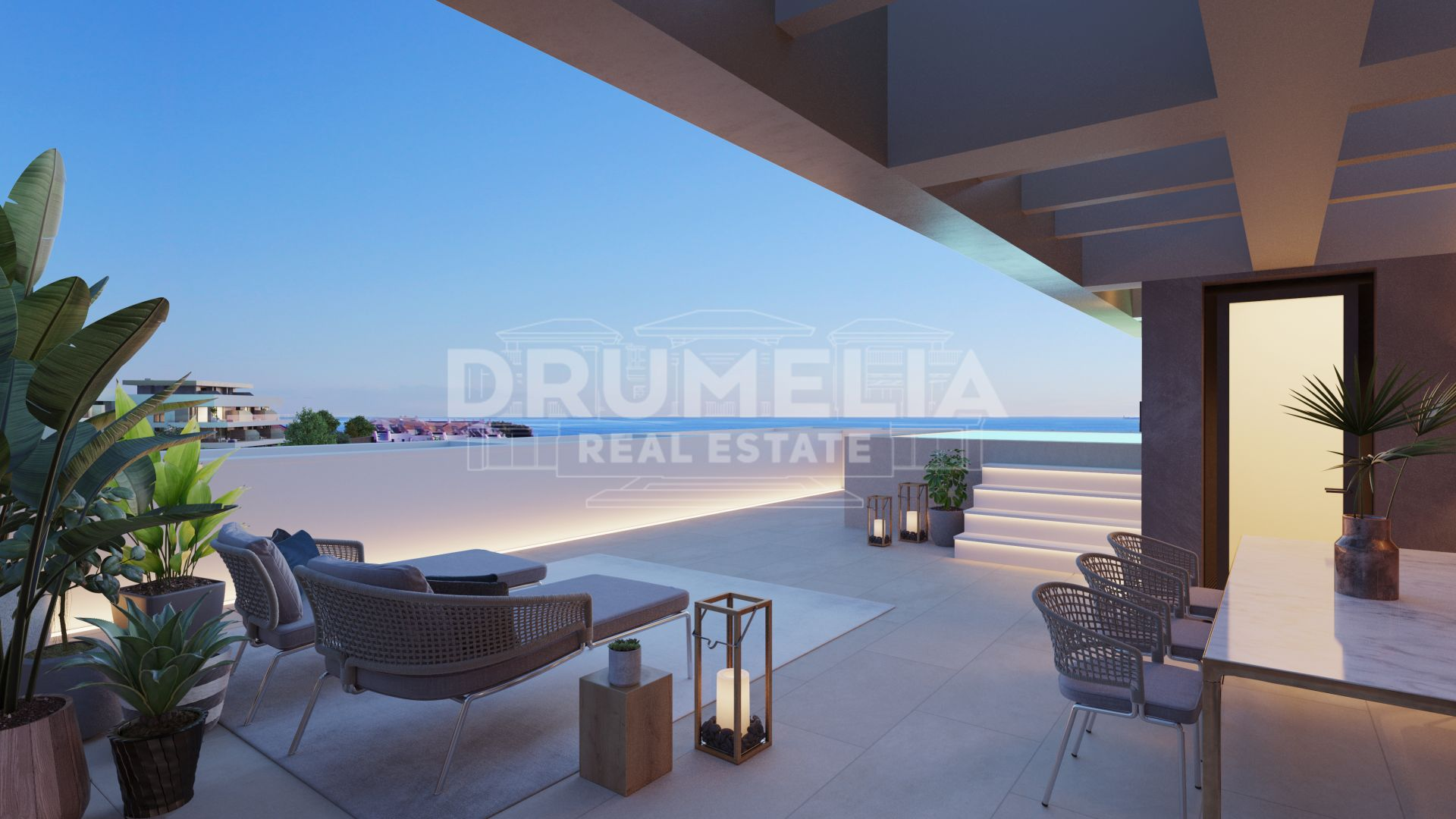 Estepona, Brand New Luxury Penthouse in Cancelada, Estepona.