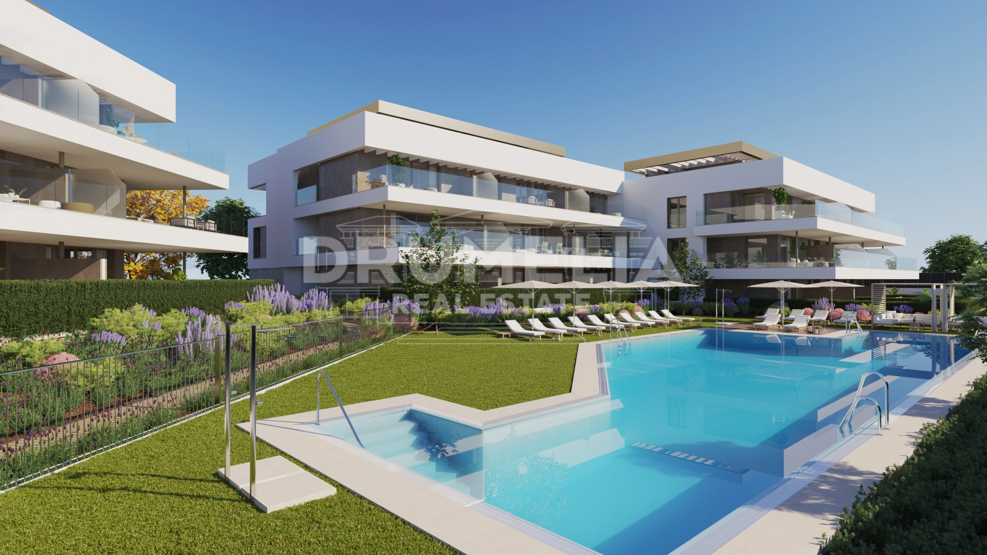 Estepona, A Residential Complex of 69 New Contemporary Apartments, Cancelada, Estepona