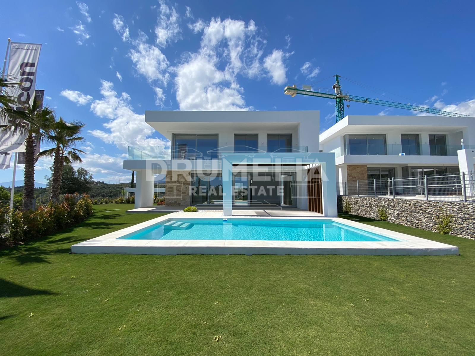 Marbella East, Contemporary villas with spectacular sea & golf views in Santa Clara Golf Resort
