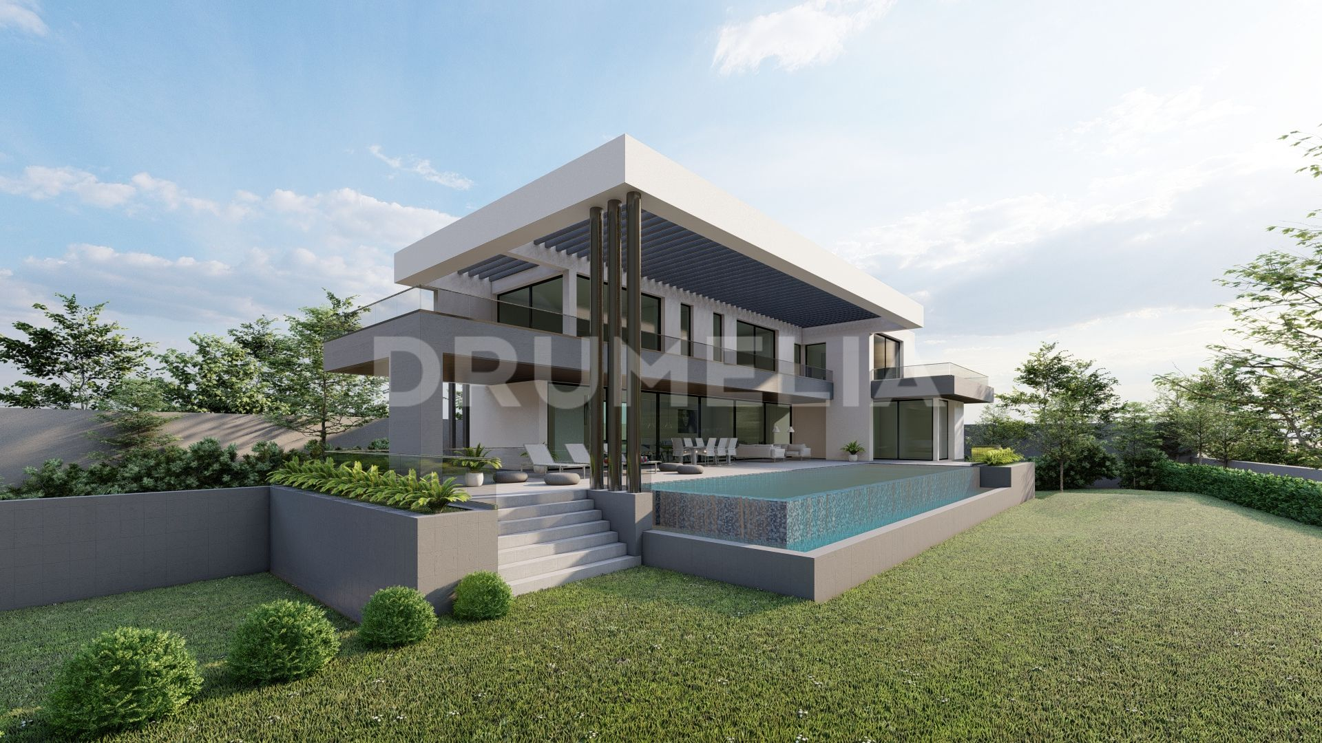 Marbella Golden Mile, Plot with Project and Construction Licence in La Carolina - Golden Mile