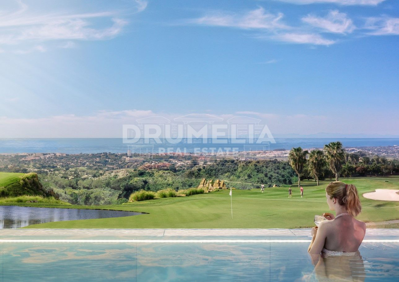 Benahavis, Excellent Plot (5) with Impressive Sea Views and Project in Real de La Quinta