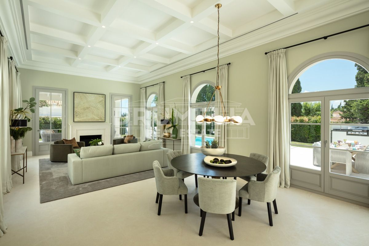 Marbella Golden Mile, Two Elegant Designer Villas Set in Nagueles - Golden Mile