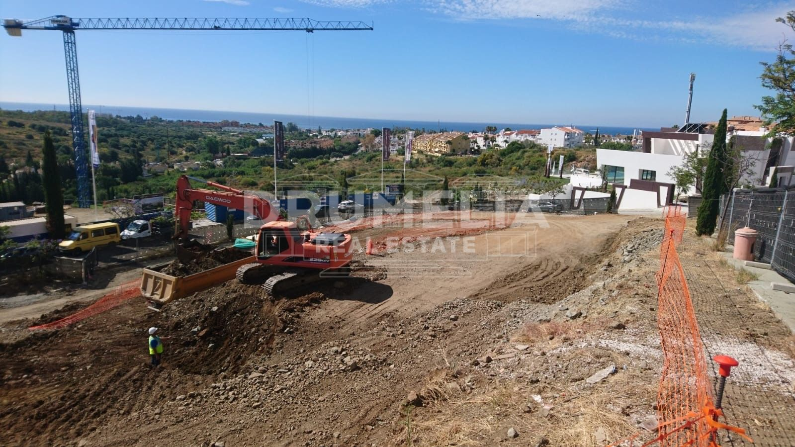 Benahavis, Superb Large Plot with Panoramic Sea Views, Los Flamingos Resort, Benahavis