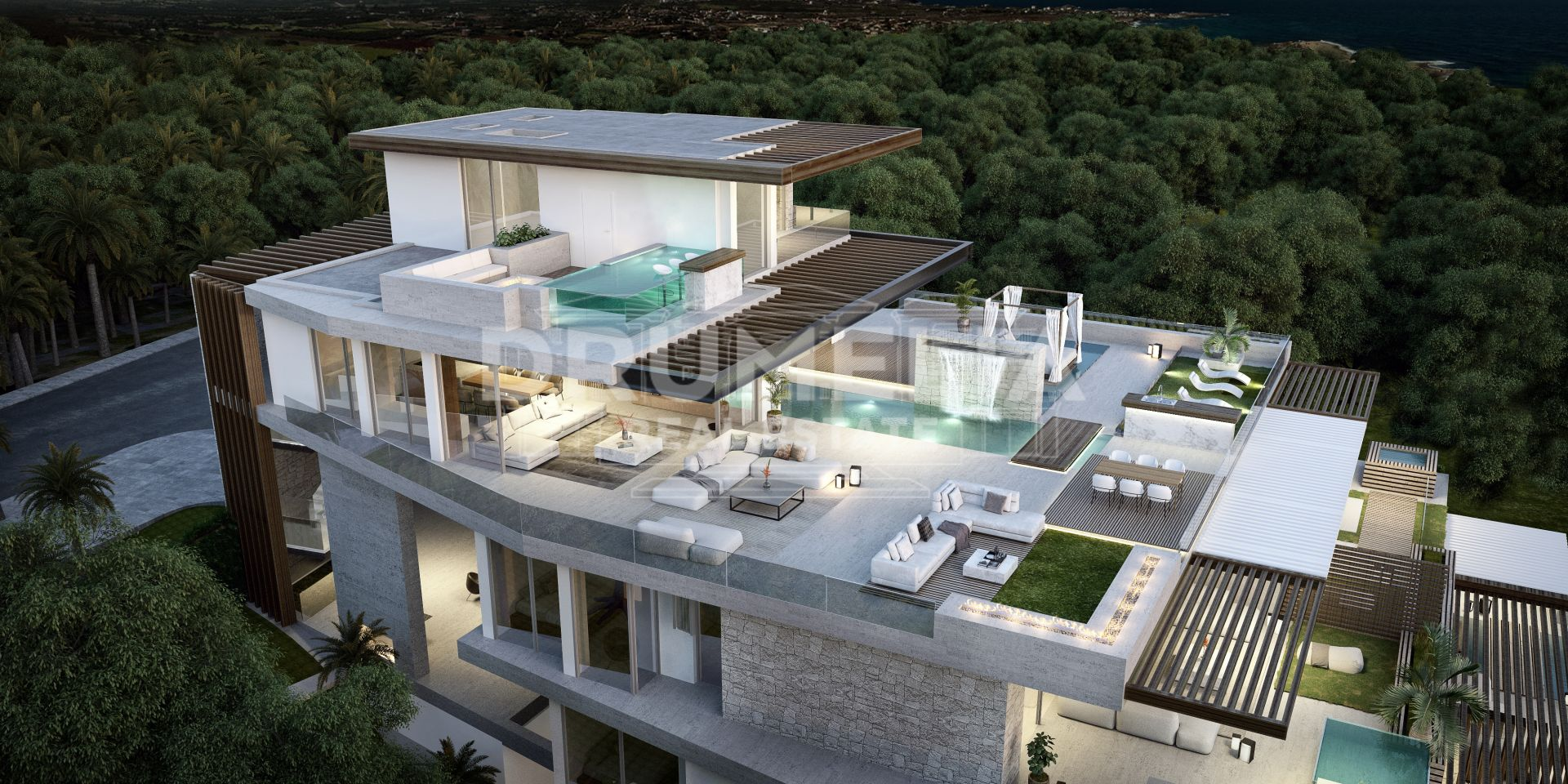 Estepona, Unique New Ultramodern Frontline Beach Luxury Apartment, Estepona Playa, Estepona
