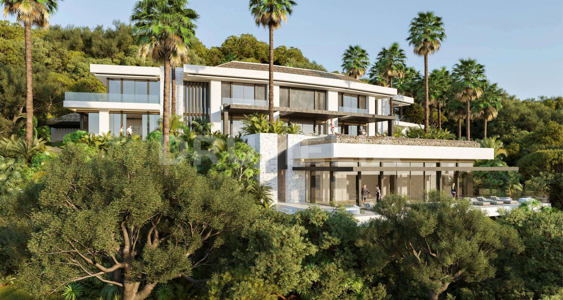 Benahavis, Exquisite Modern Luxurious Villa with Stunning Views in Zagaleta