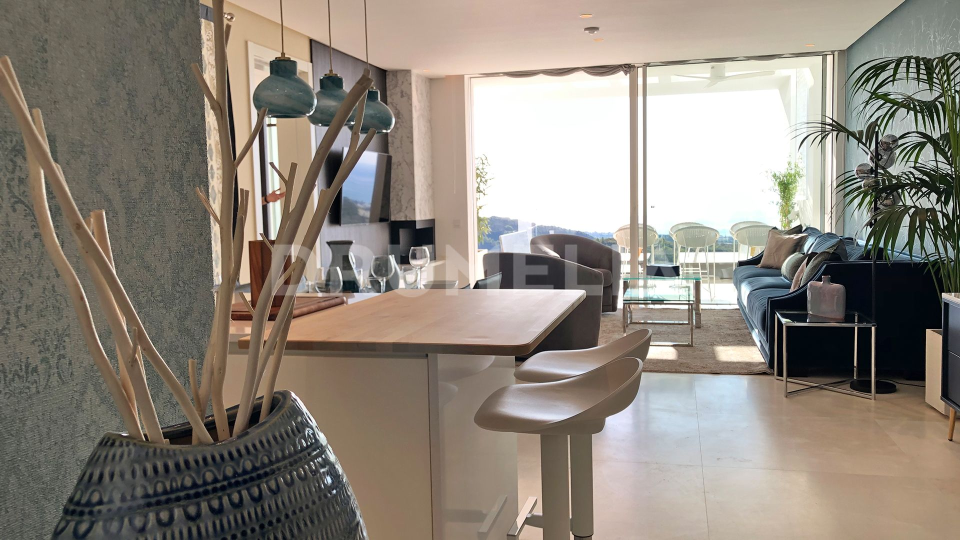 Ojen, Brand New Modern Apartment Ready to Move in, Palo Alto, Ojen-Marbella