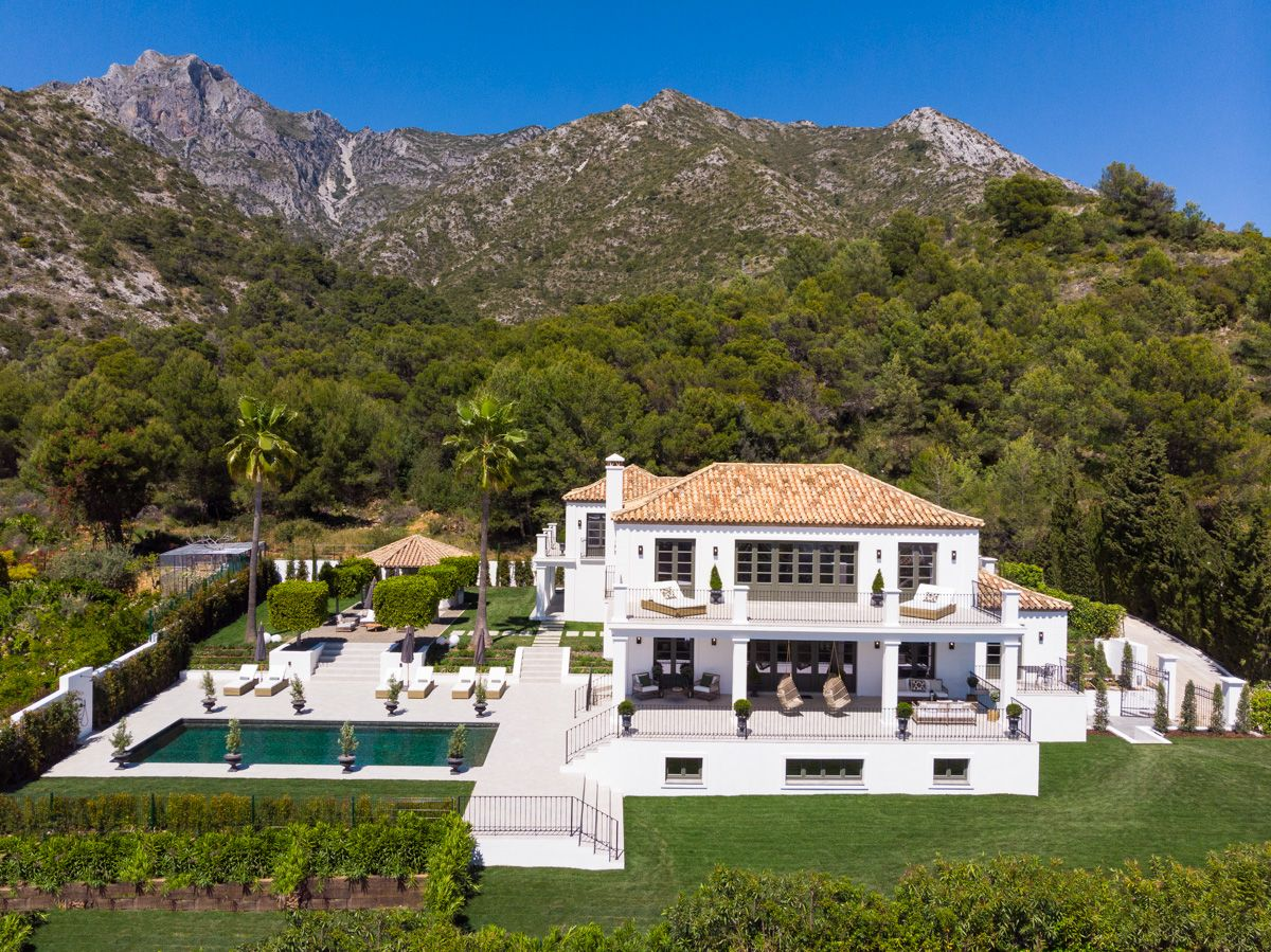 Casa Arbequina - Luxury villa with panoramic views in Sierra Blanca