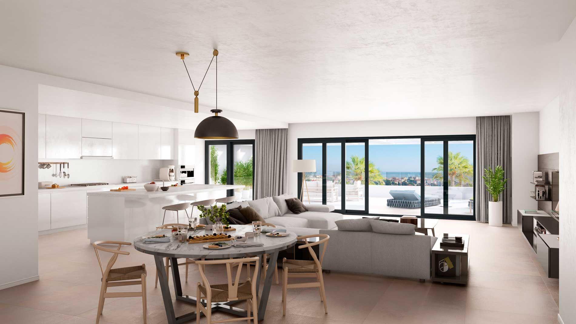 Penthouse  in Estepona Puerto, Estepona