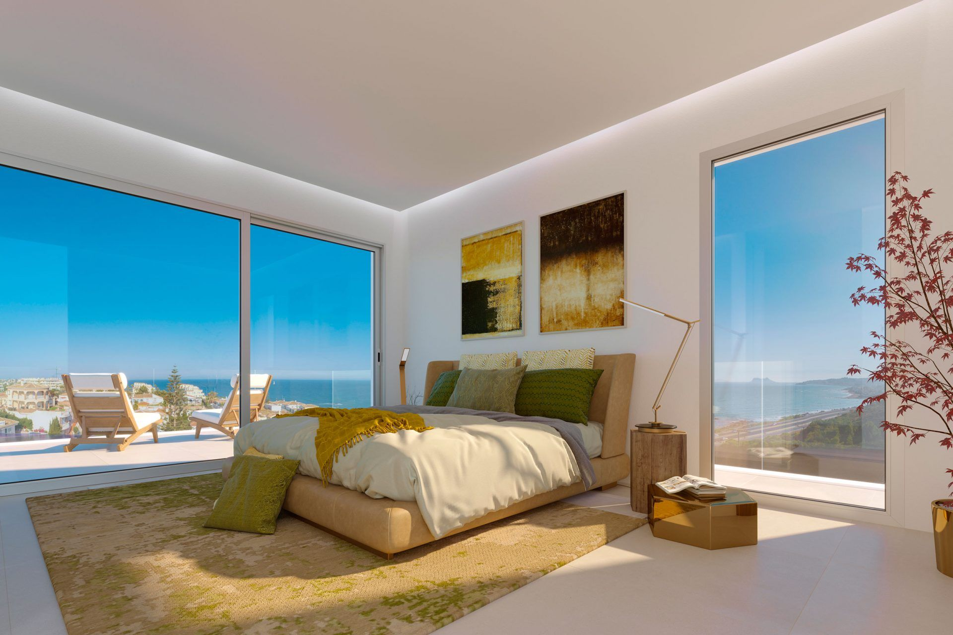New development of Town Homes in Mijas