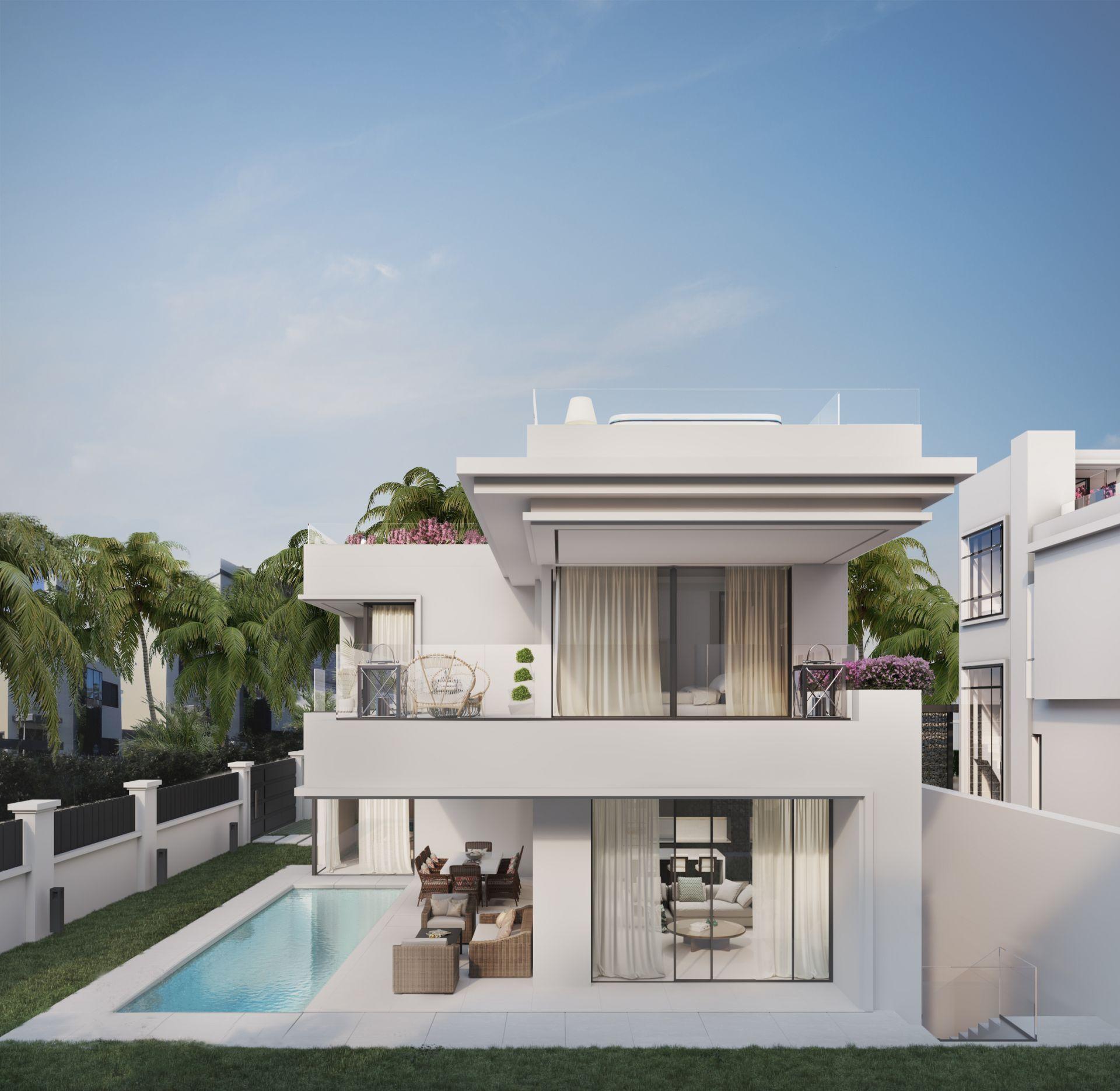 Villa  in Rio Verde Playa, Marbella Golden Mile, Marbella