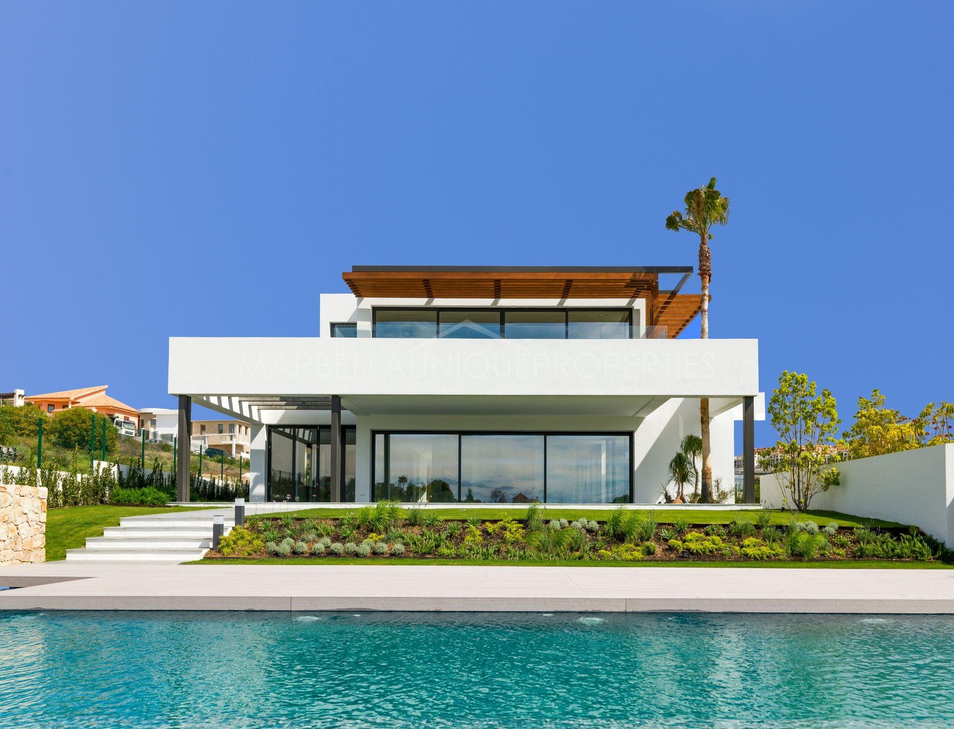 Villa Moderne stunning modern villa for sale in los flamingos golf