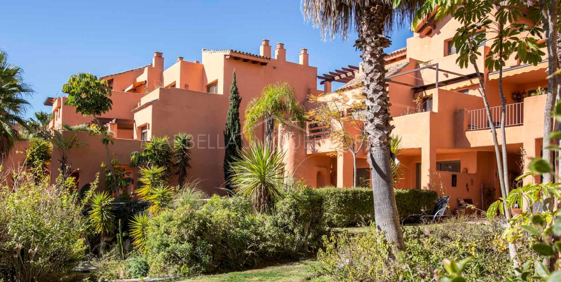 Garden apartment in Sotoserena on Marbellas New Golden Mile