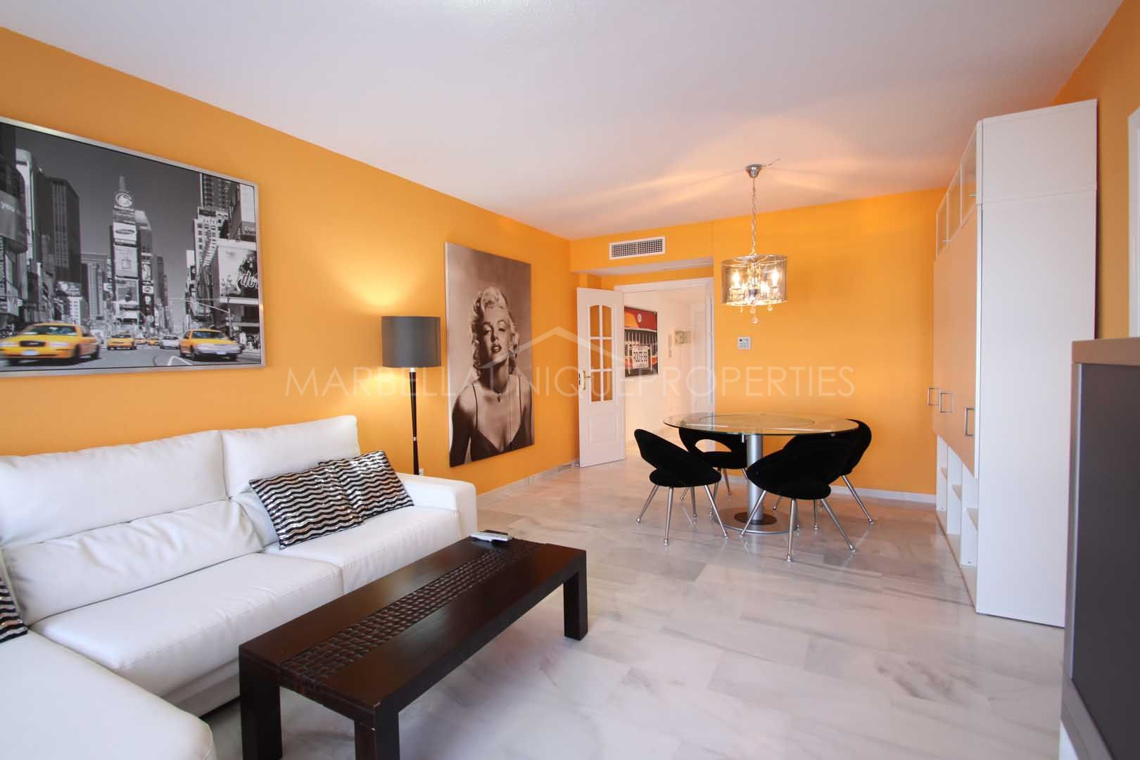 Splendid apartment with sea views and close to the beach in Manilva
