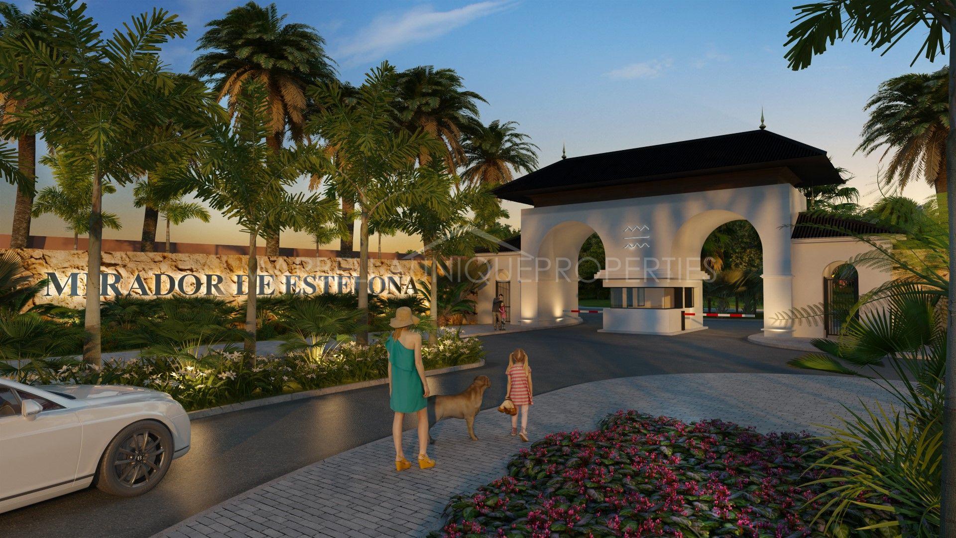 A brand new luxury apartment development behind Estepona Town