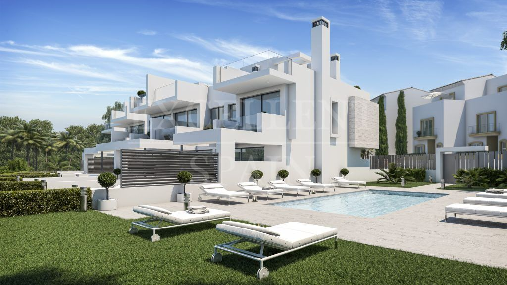 West Beach, Estepona - West Beach, Estepona, Contemporary beachside townhouses for sale
