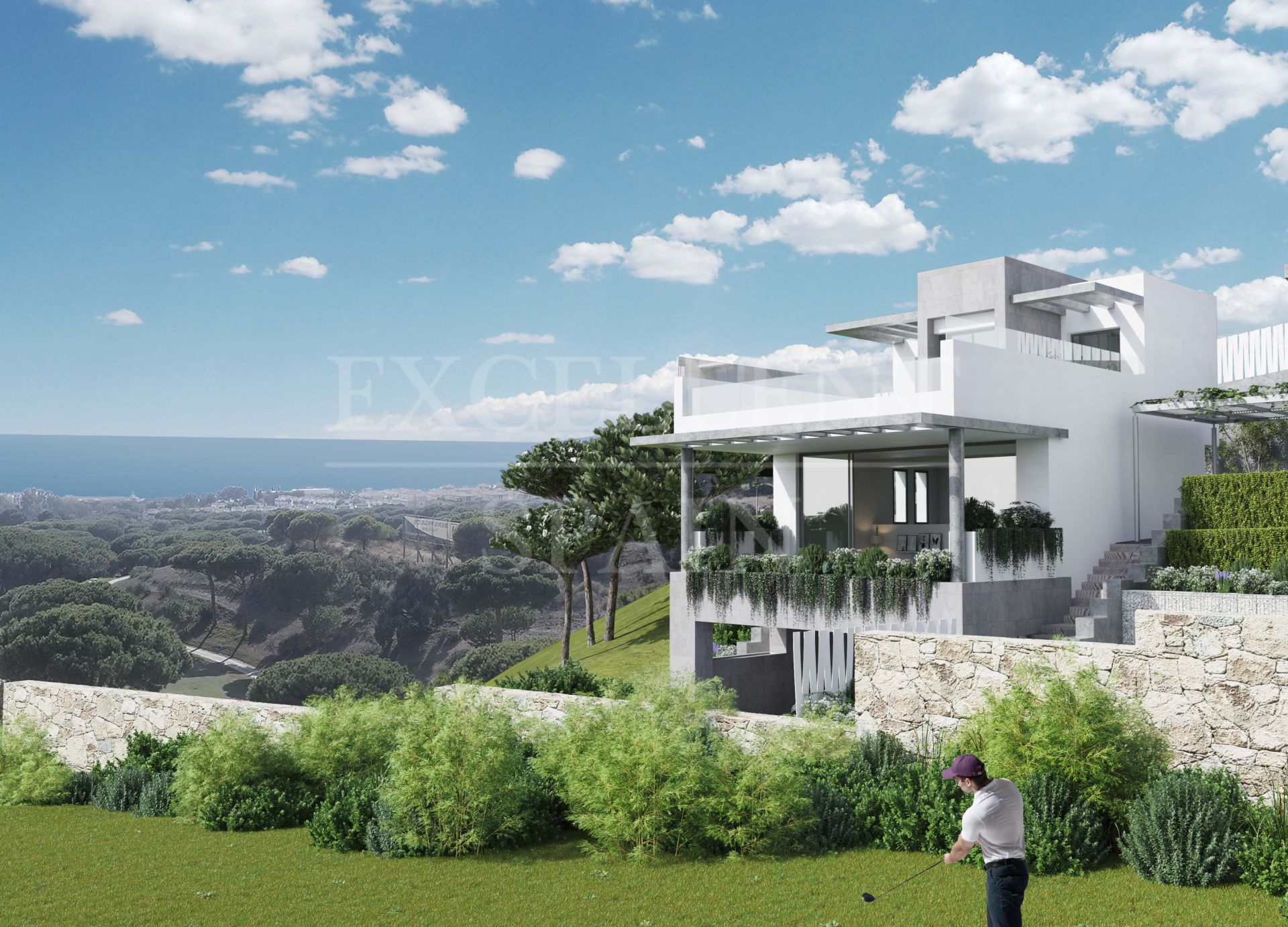 The Cape, Marbella East - The Cape, Cabopino, 25 townhouses with views of the Mediterranean sea