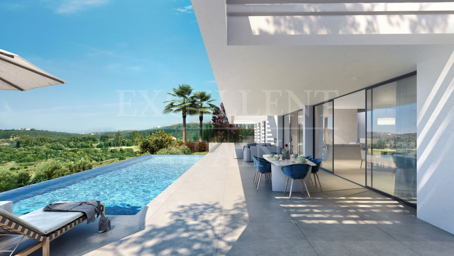 Neubau Immobilien Los Flamingos Views, Benahavis