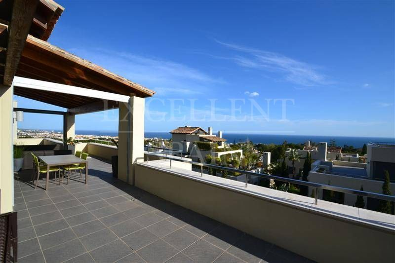 Imara, Marbella, Costa del Sol, amazing penthouse with sea views for sale