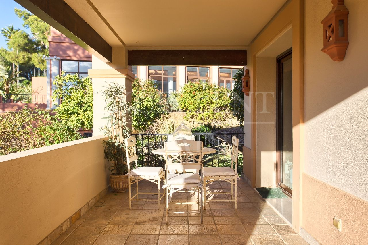 Ground Floor Apartment in Aloha Park, Nueva Andalucia