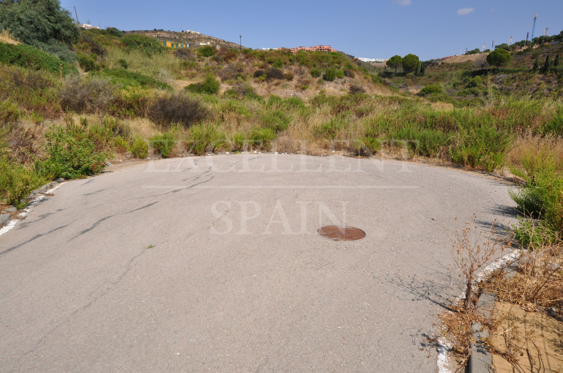 Investment, Building plot for sale for 11 individual villas in Manilva, Costa del Sol