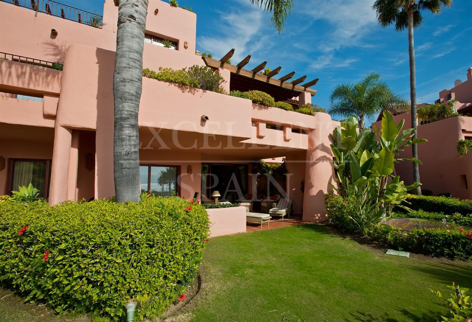 Ground Floor Apartment in Cabo Bermejo, Estepona