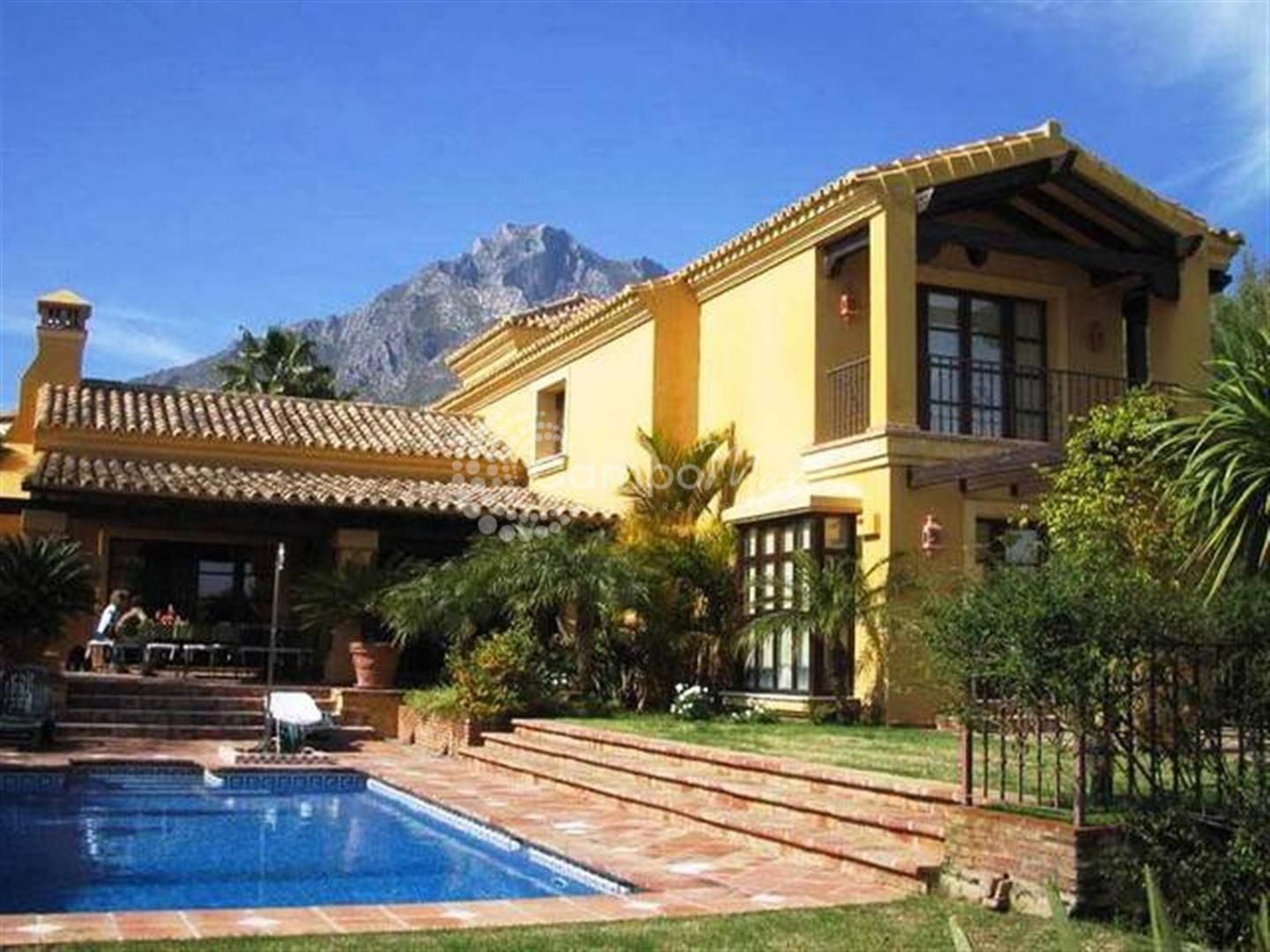 Villa en Marbella Golden Mile