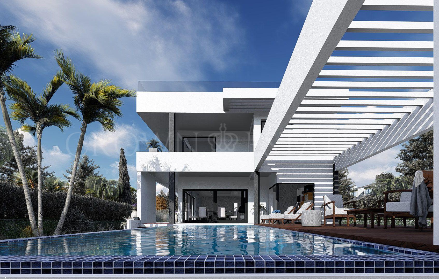 Luxurious new brand villa just 300 meters from the beach in Puerto Marina, Benalmadena