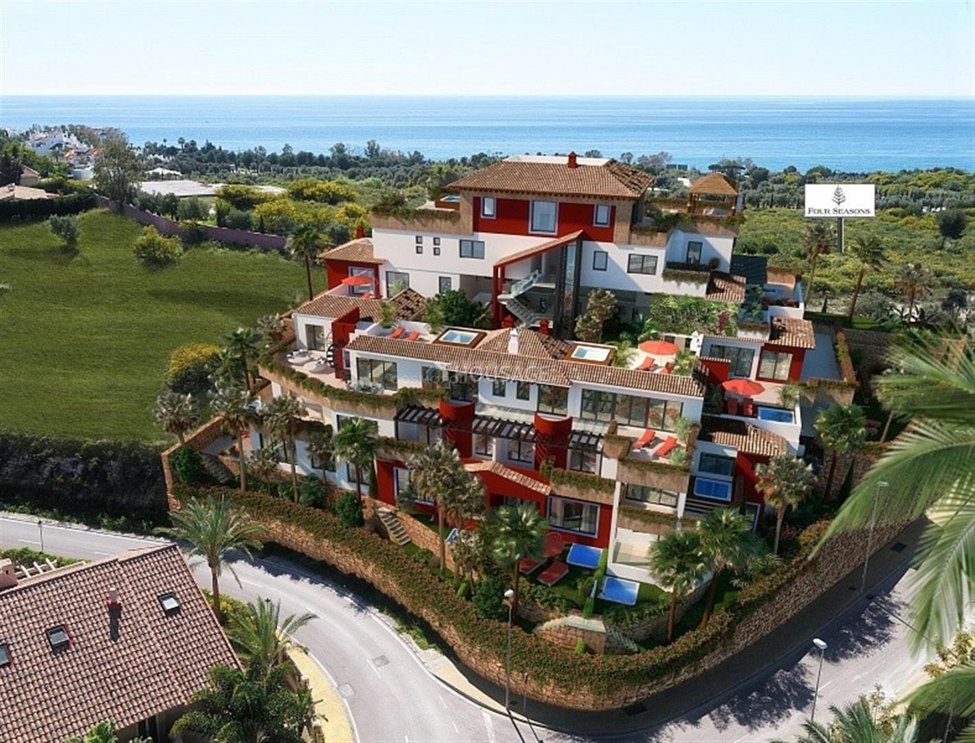 La Cornisa, exclusiva urbanización de sólo 16 viviendas en la mejor zona de Río Real.