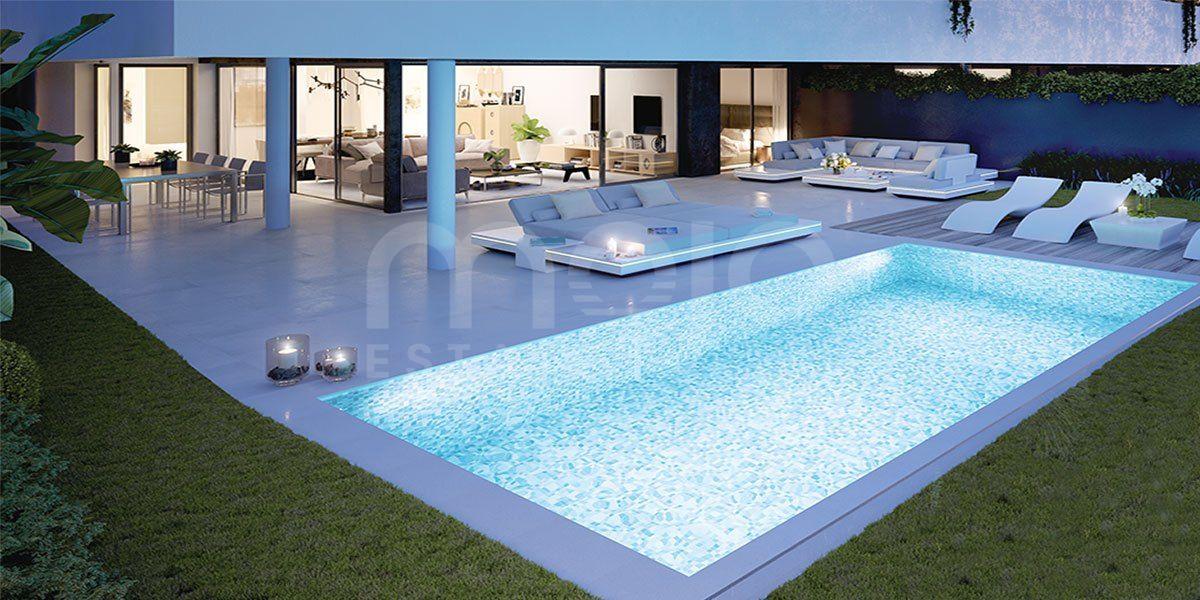 Lujosa Villa en construcción en Mijas Golf
