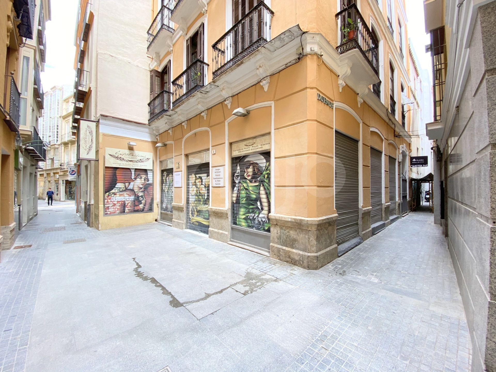 Edificio residencial en el casco histórico de Málaga