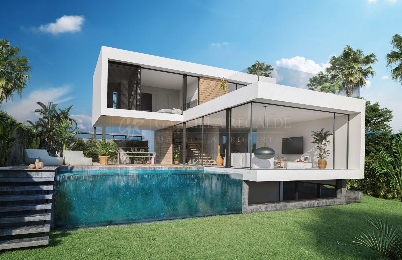 Luxury design villas just by El Campanario Golf & Country House.