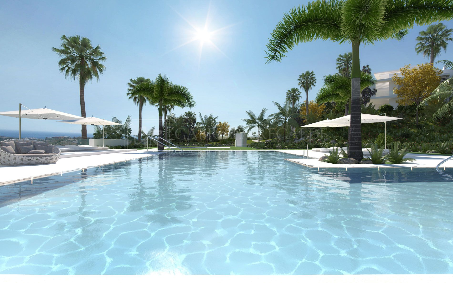 The First Crystal Lagoon is built in Europe-Casares Costa del Sol