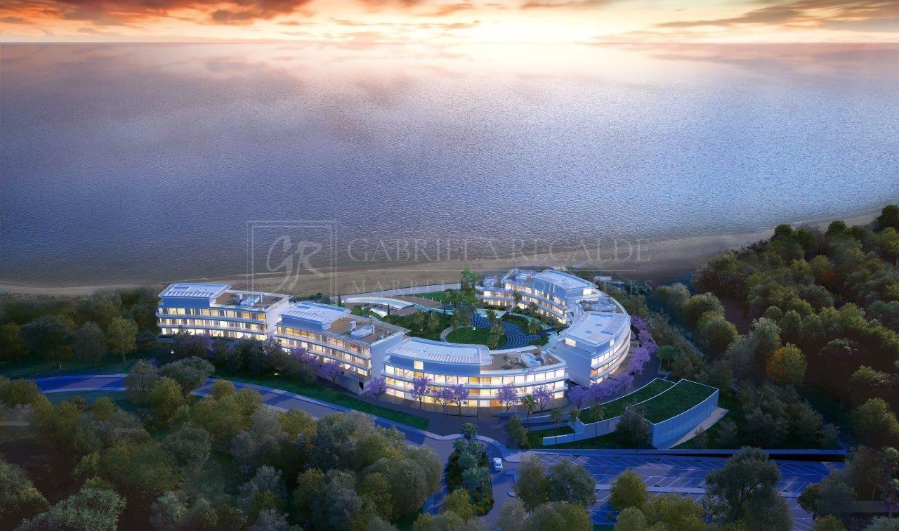 Exquisite Modern Frontline Beach Complex