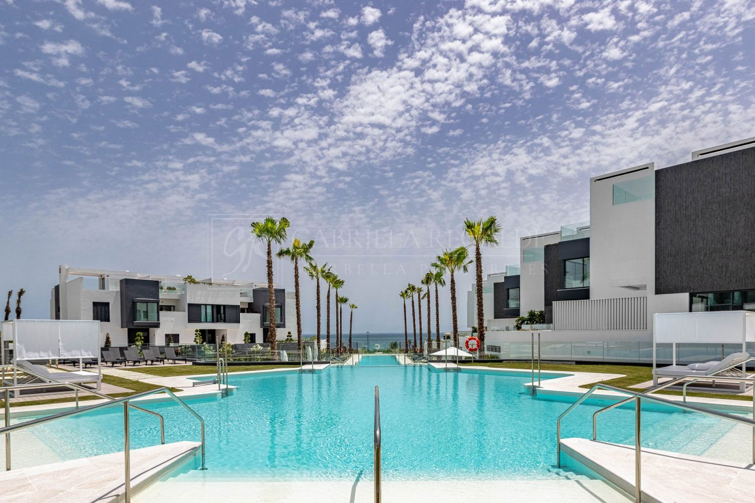 Beach front luxury Townhouses in Estepona