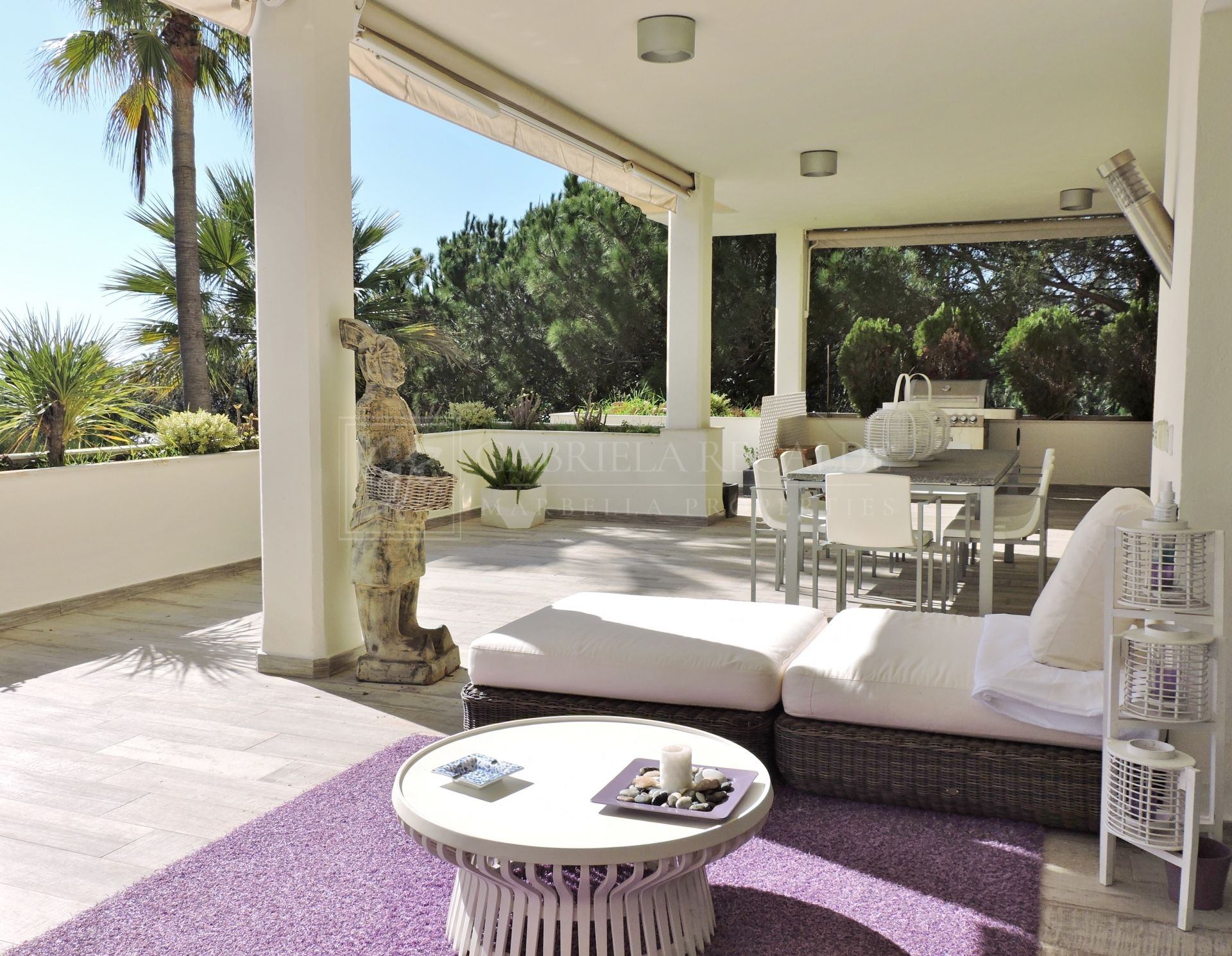 Luminous Ground Floor Apartment Marbella Golden Mile