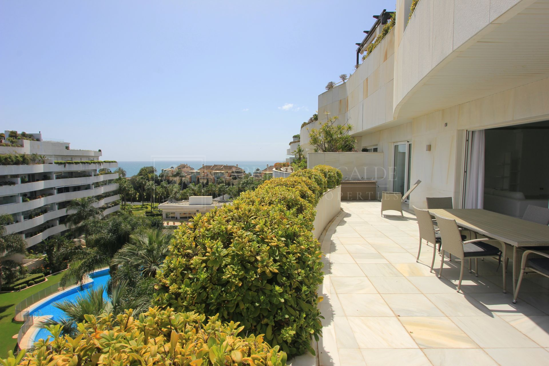 Magnificent 4 Bedroom Penthouse with Sea Views in Puerto Banús