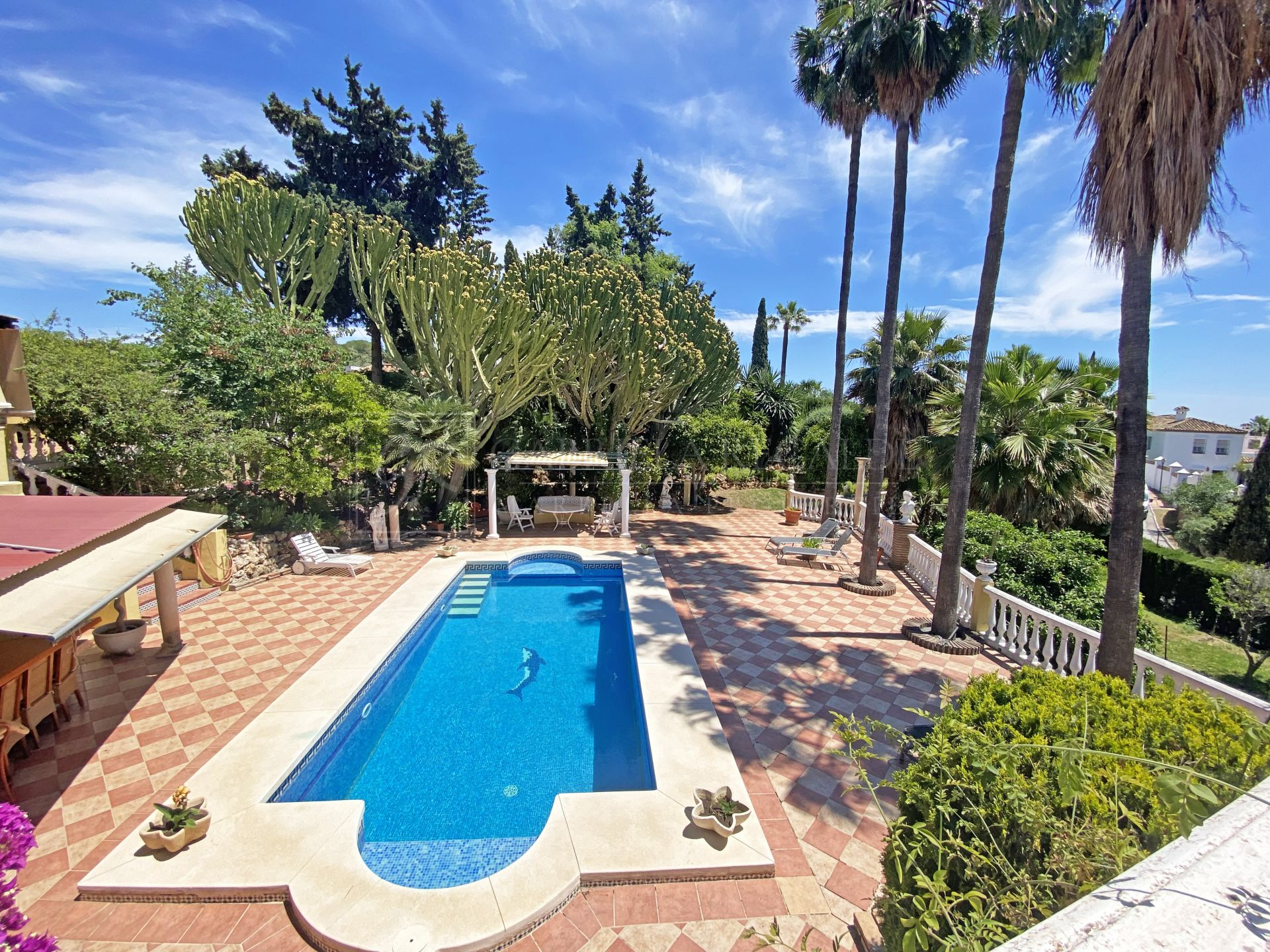 Four-Bedroom Family Villa with Spacious and Lush Gardens