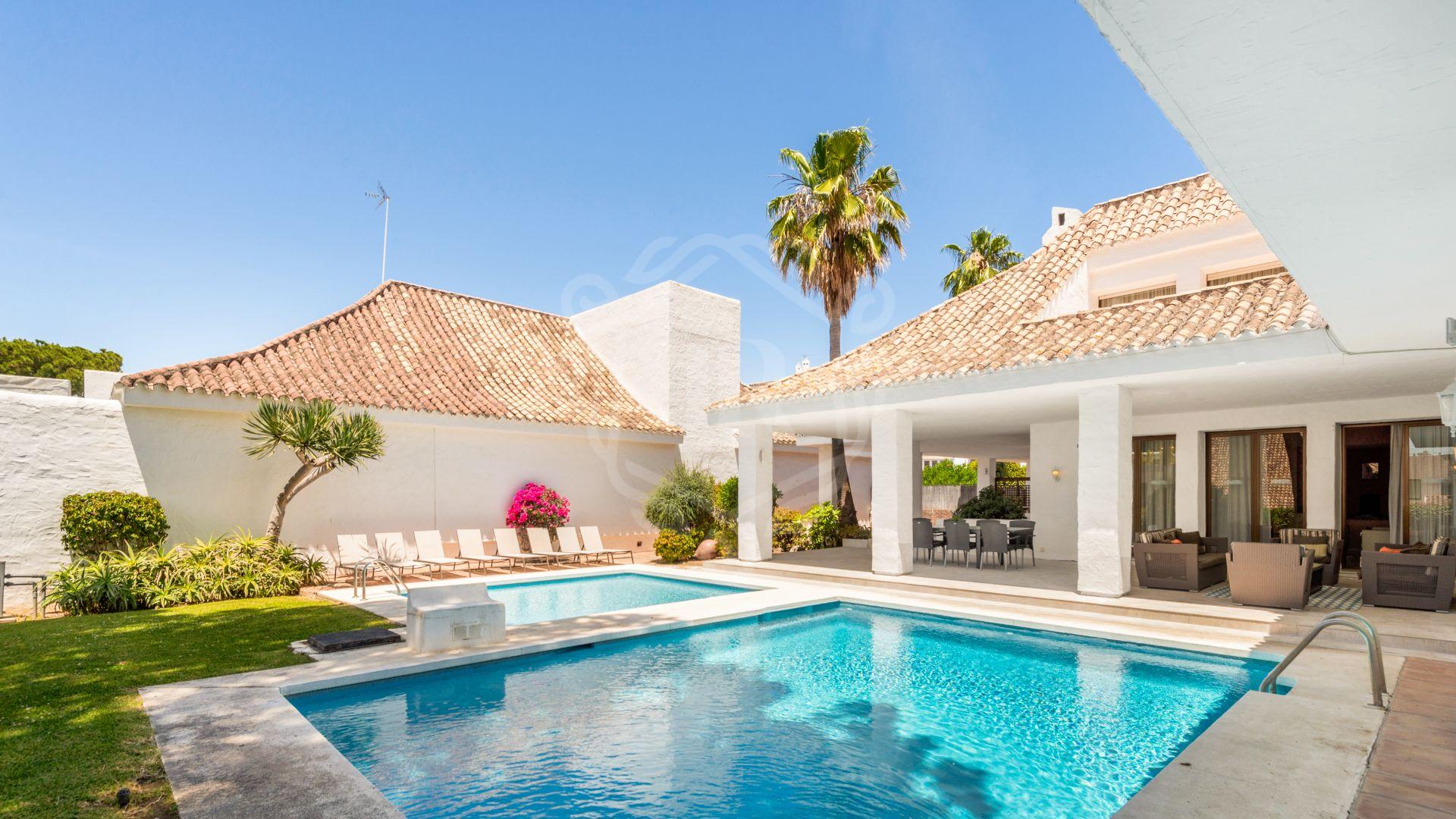 Villa for rent in Villa Marina, Marbella - Puerto Banus
