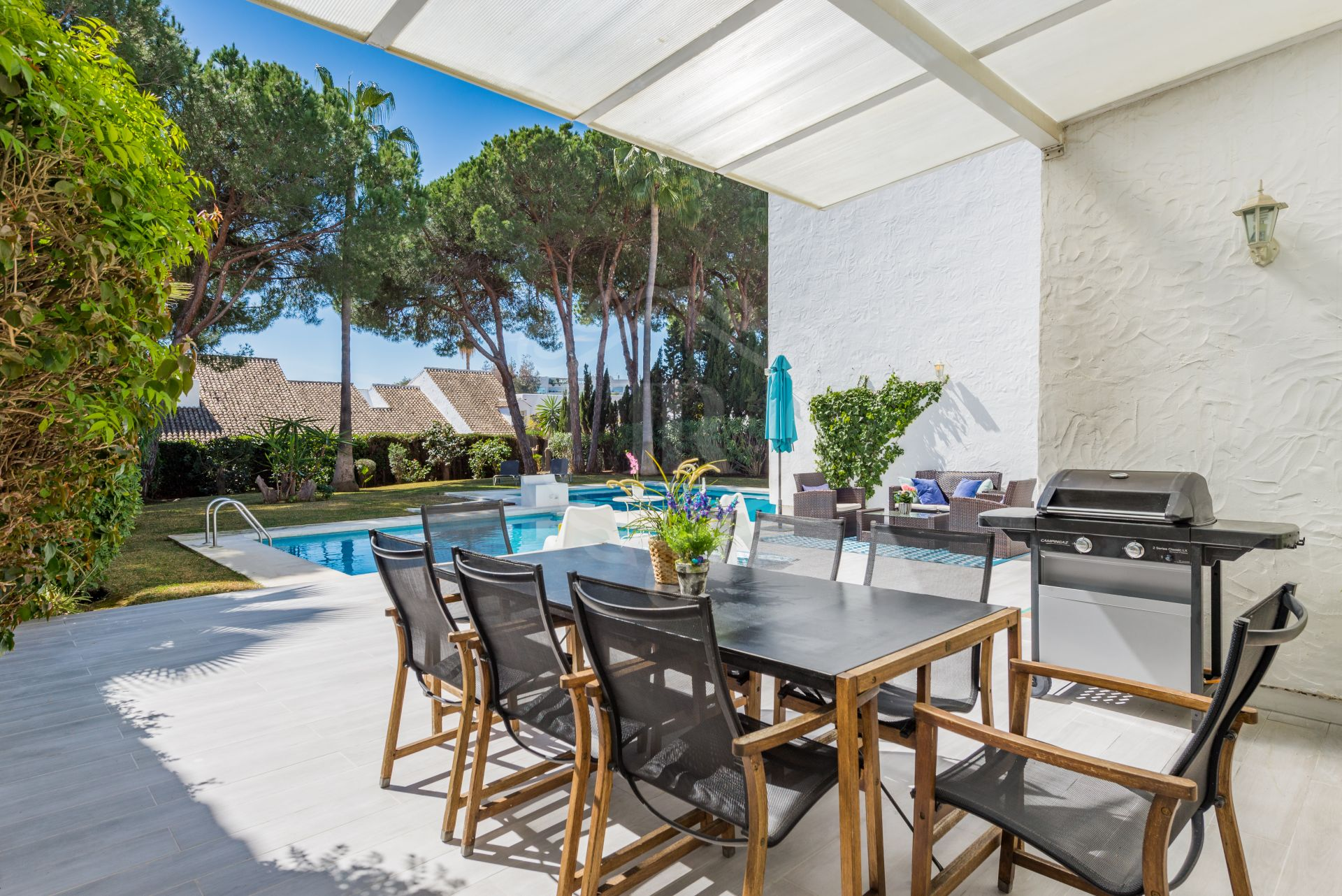Villa for rent in Villa Marina, Marbella - Puerto Banus