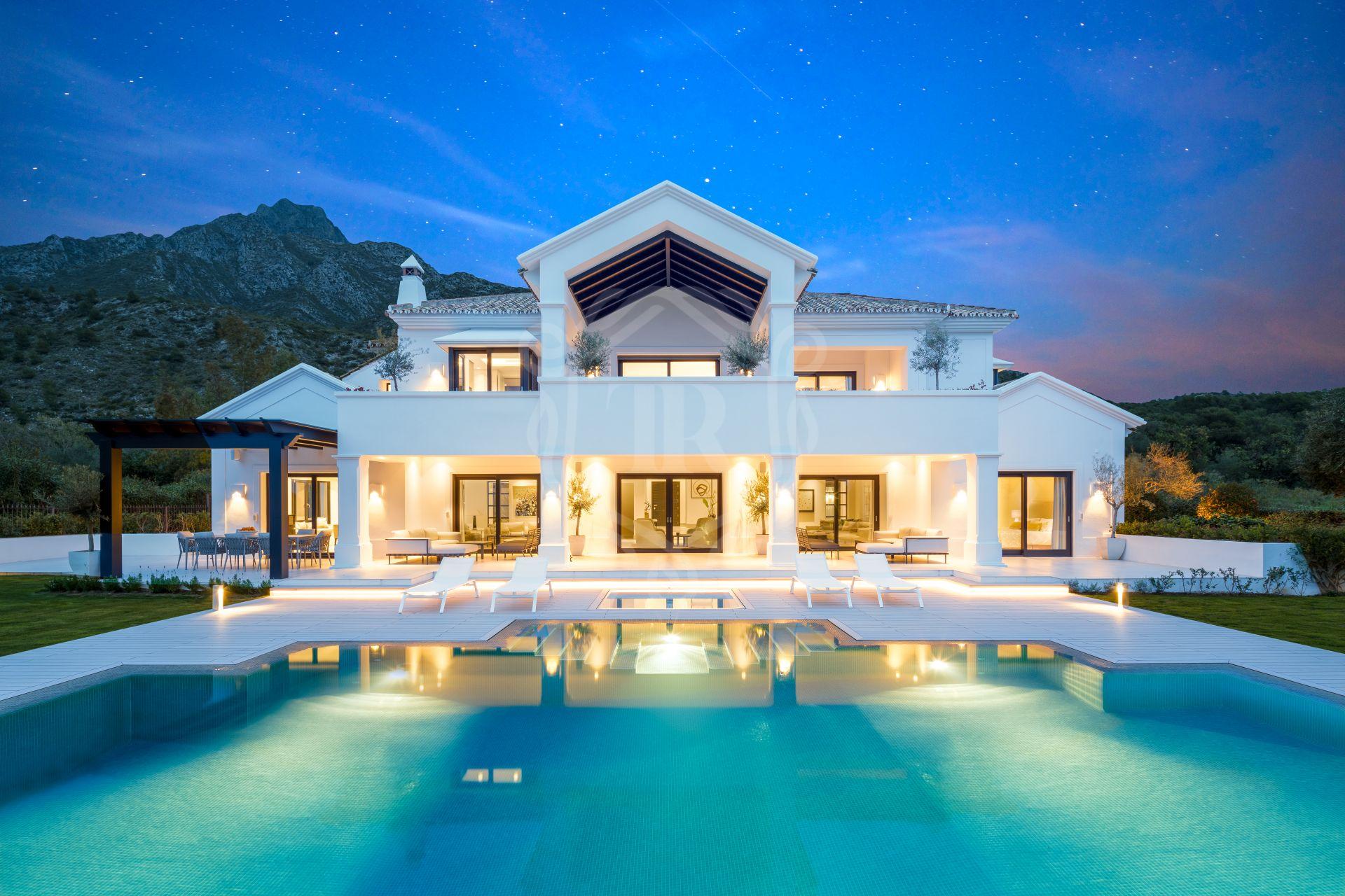 Villa en venta en Los Picos, Marbella Golden Mile