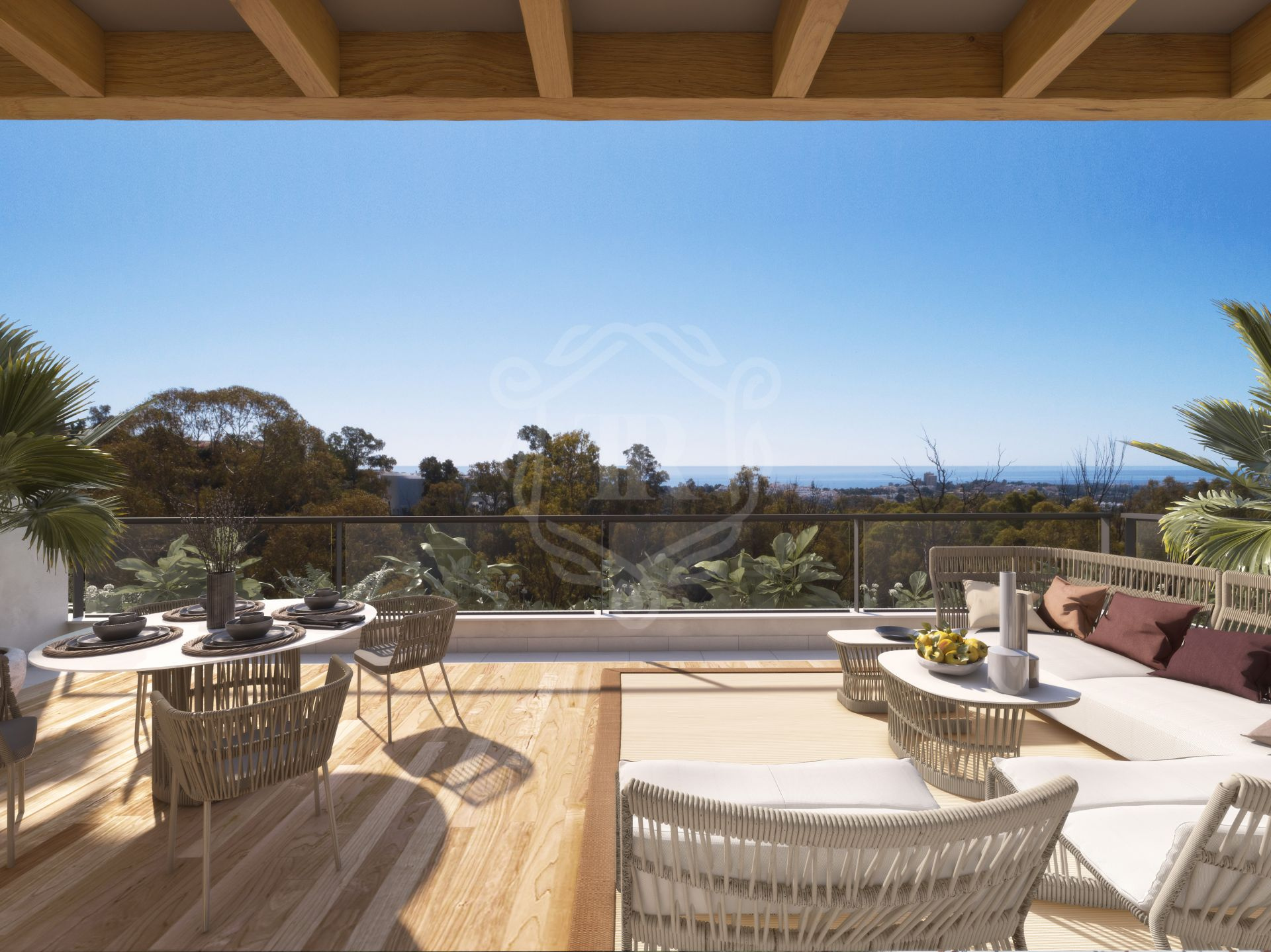 Fantastic 3-bedroom penthouse with panoramic views in Nueva Andalucia - Marbella Lake